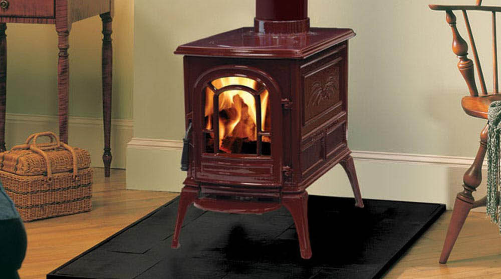 Aspen wood burning stove
